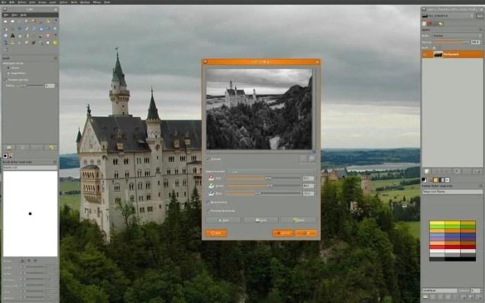 gimp tool per grafica