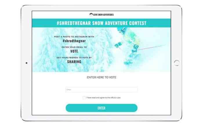 ShortStack Instagram contest