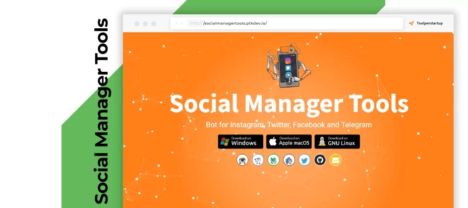 L'app desktop multi-BOT gratis per i tuoi social, Social Manager Tools
