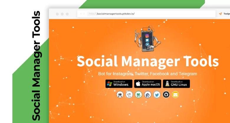 social manager tool bot gratis