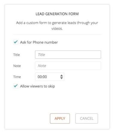 Hippo Video lead generation