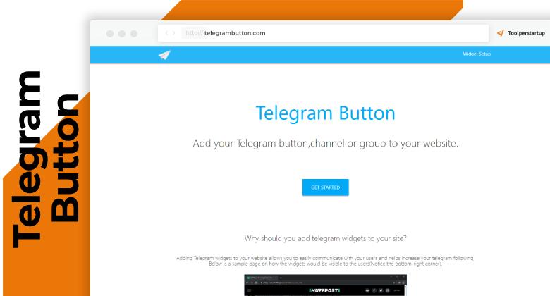collegare sito web a telegram