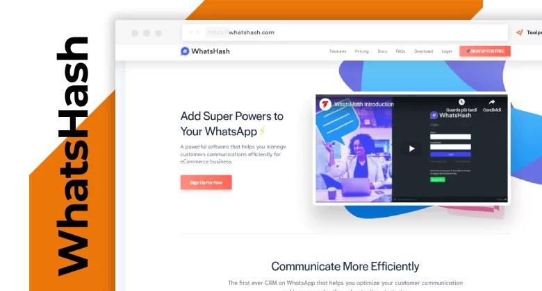 WhatsHash WhatsApp marketing