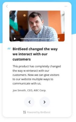 testimonianze BirdSeed