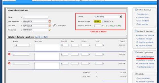 2 2 2 détails de la facture partie 1 logiciel de facturation en ligne