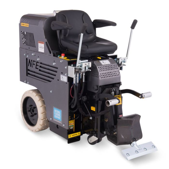 national 5700 all day battery ride on floor removal machine