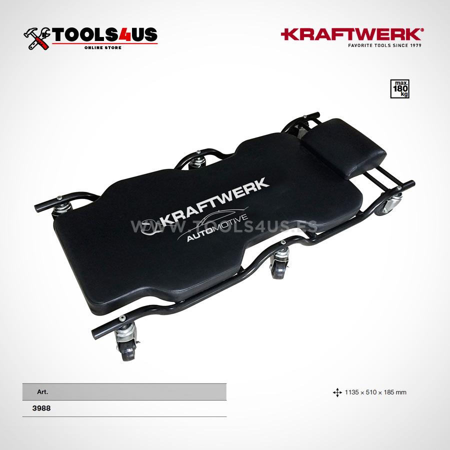 3988 kraftwerk tools camilla deluxe ergonomica taller garage 01 - Camilla Ergonómica Deluxe Acolchada