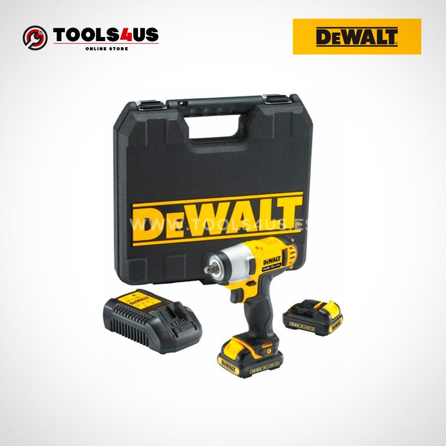 DCF813D2 QW DEWALT pistola llave atornillador impacto a bateria 10 8v herramientas profesionales 02 - Pistola Llave de Impacto 10.8V XR LI-ION – 2.0AH DeWalt DCF813D2-QW