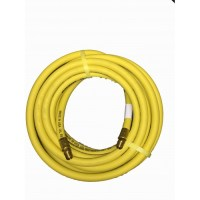 "Goodyear 25'x3/8"" Yellow Rubber Air Hose"