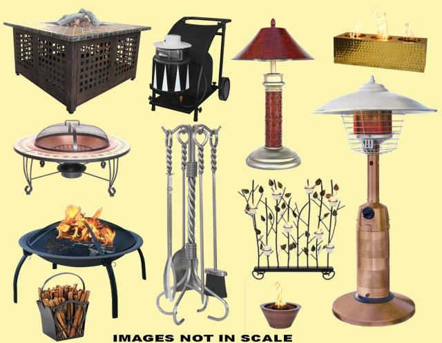fireplace tools, fireplace accessories, fireplace screens, patio