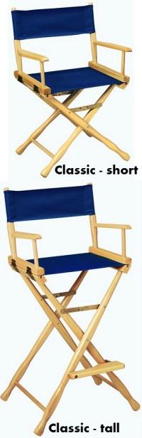 Classic Short Director Chair