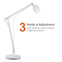 Ottlite LED Crane Lamp with Clamp | Tools for Wellness