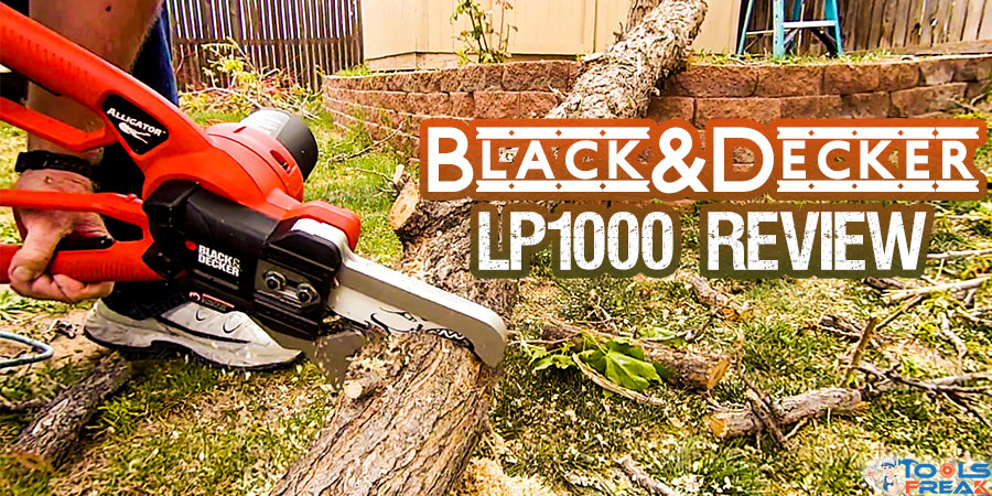 Black & Decker LP1000 Review