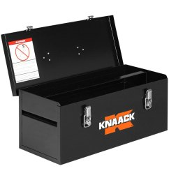 knaack steel tool box with tool tray 22 w x 9 d x  [ 1000 x 1000 Pixel ]