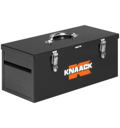 knaack steel tool box with tool tray 22 w x 9  [ 1000 x 1000 Pixel ]