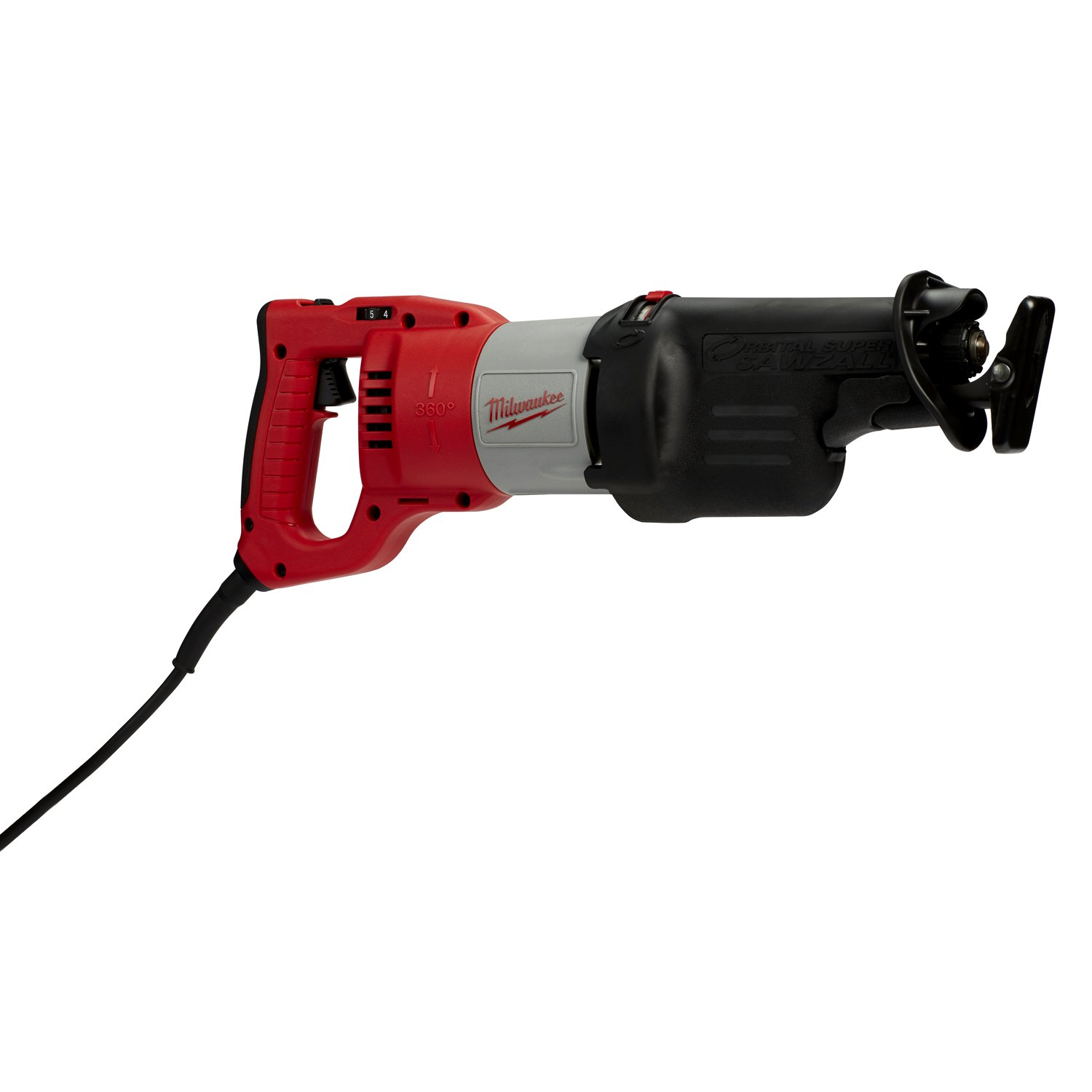 hight resolution of milwaukee 360 rotating handle orbital super sawzall recip saw