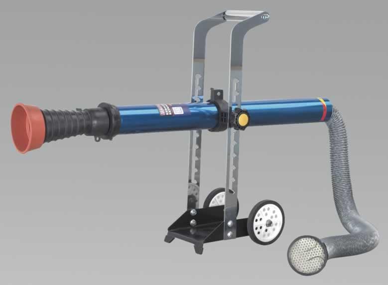 exhaust fume extractor