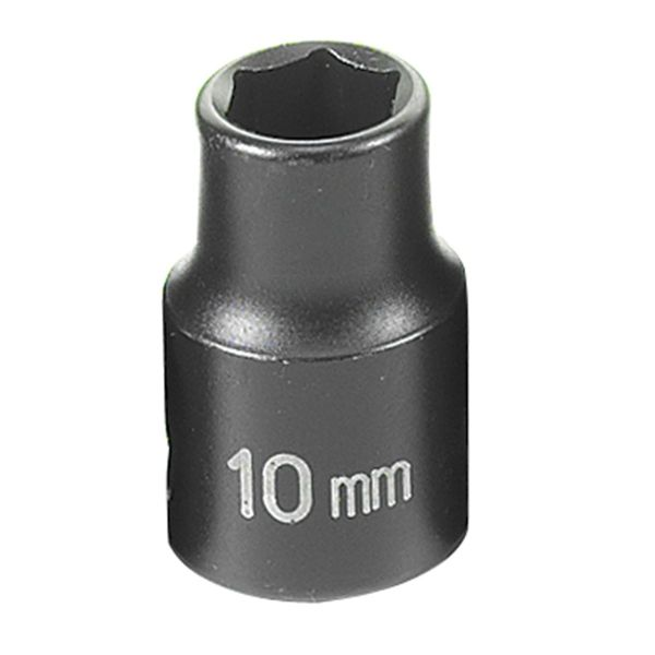 3 8 Drive X 10mm Standard Impact Socket Grey Pneumatic 1010m