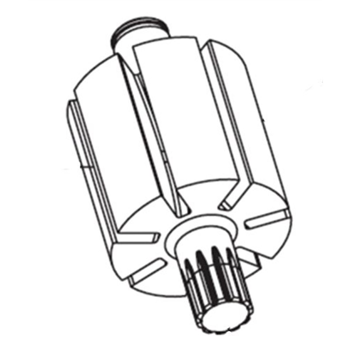 Ingersoll-Rand 231-53 Rotor for SA-500 and SA-500E IR231