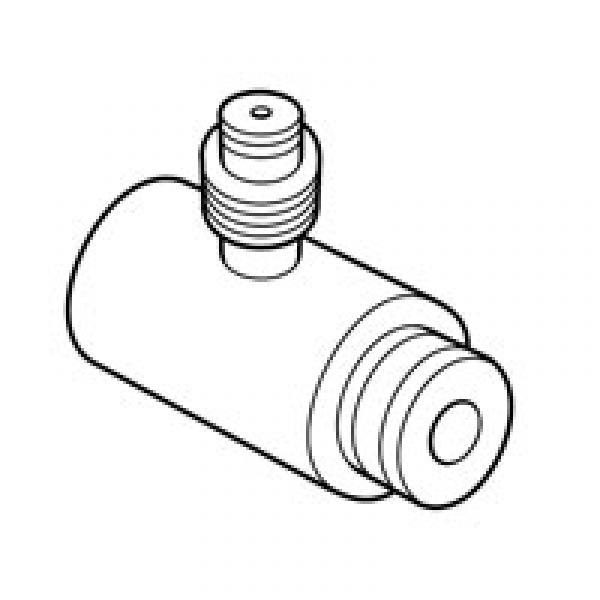 SPX Miller Special Tools 6539 Fuel Pressure Adapter 5/16 Inch