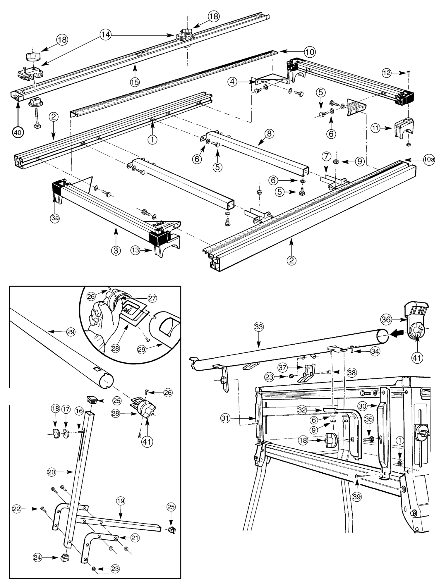 Tool Spares Online Maxi Sliding Extension Table