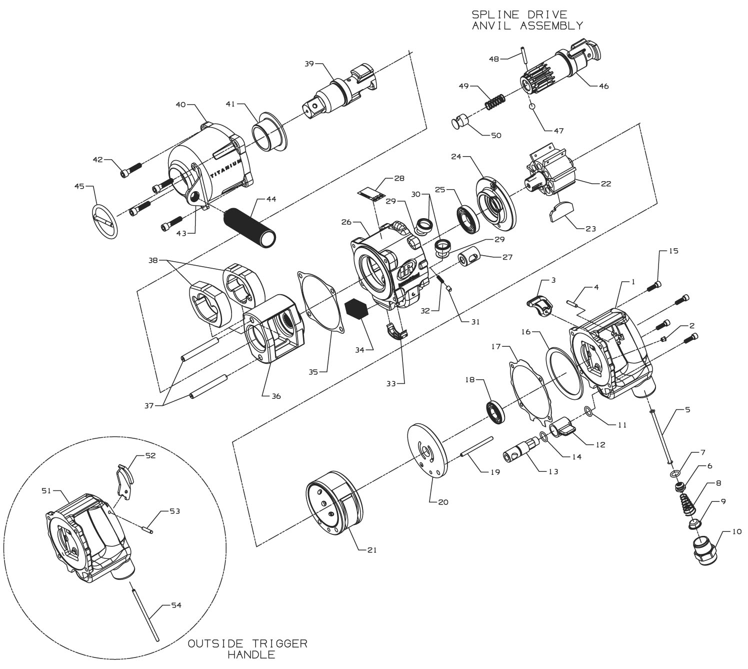 Air Tool: Ingersoll Rand Air Tool Parts Diagrams