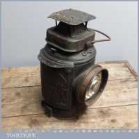 Antique LMS Railway Light - Adlake Non-Sweating Lamp