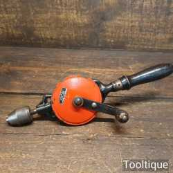 Vintage Schroder Germany Double Pinion Egg Beater Hand Drill - Good Condition