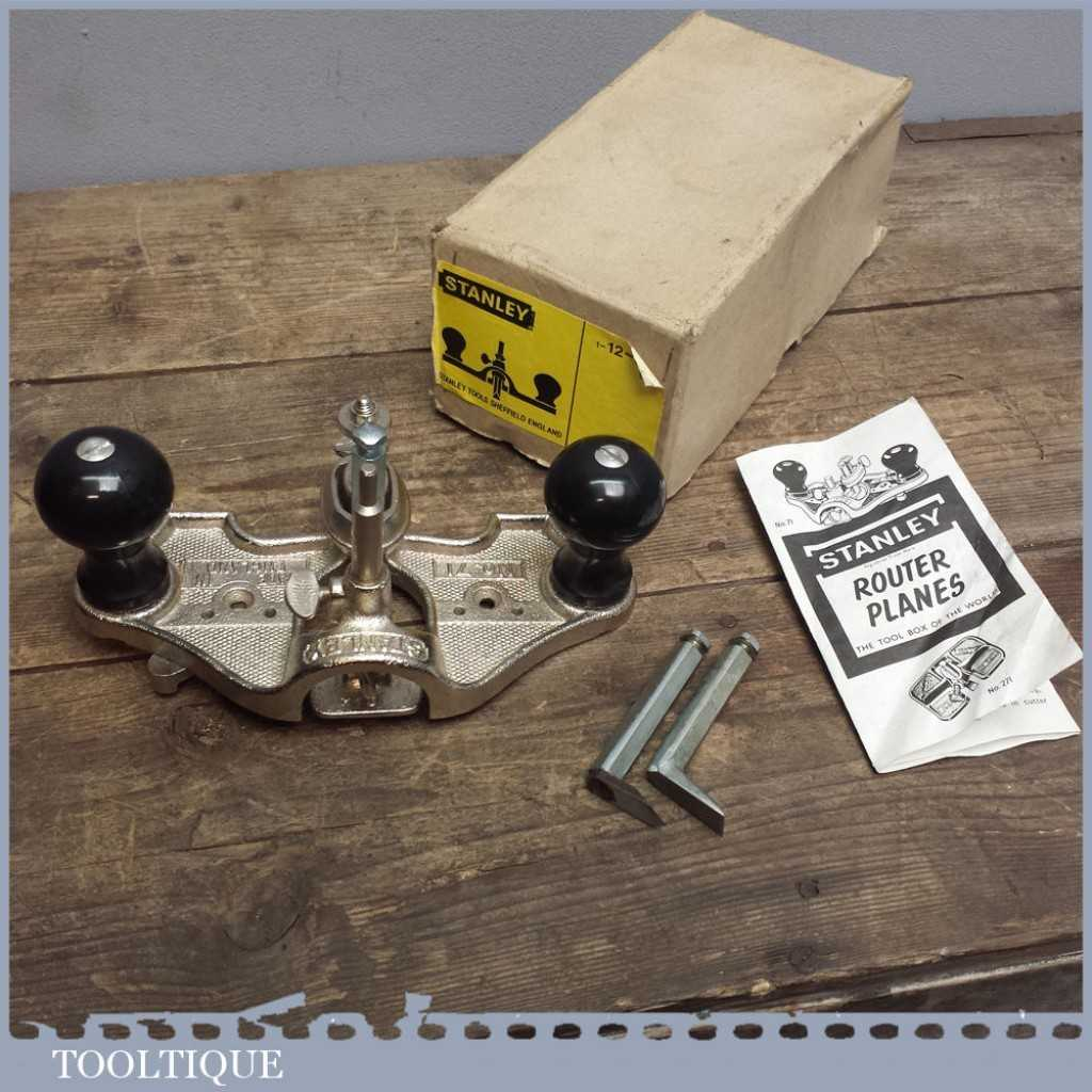 Stanley 71 Router Plane Cutters