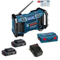 Bosch GML SoundBoxx Professional 2 x 1,5Ah Akku + AL1820