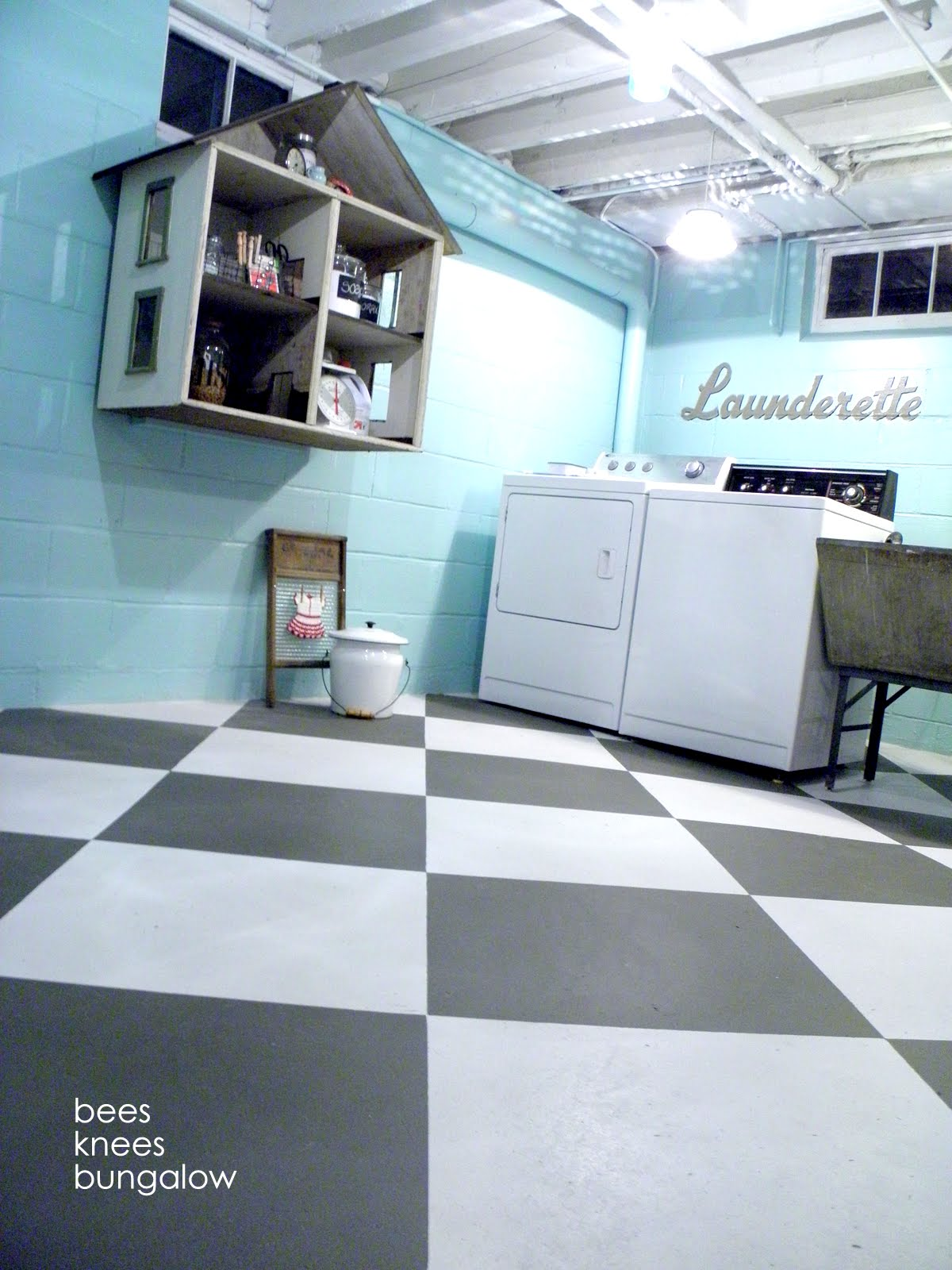 Unfinished Basement Laundry Room Ideas July 2019  Toolversed