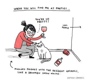 introverted party animal