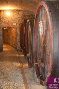 Wine cellars in Tuscany
