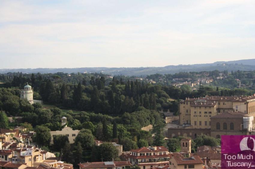 Boboli Gardens and Palazzo Pitti