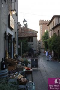 Street in Bolgheri