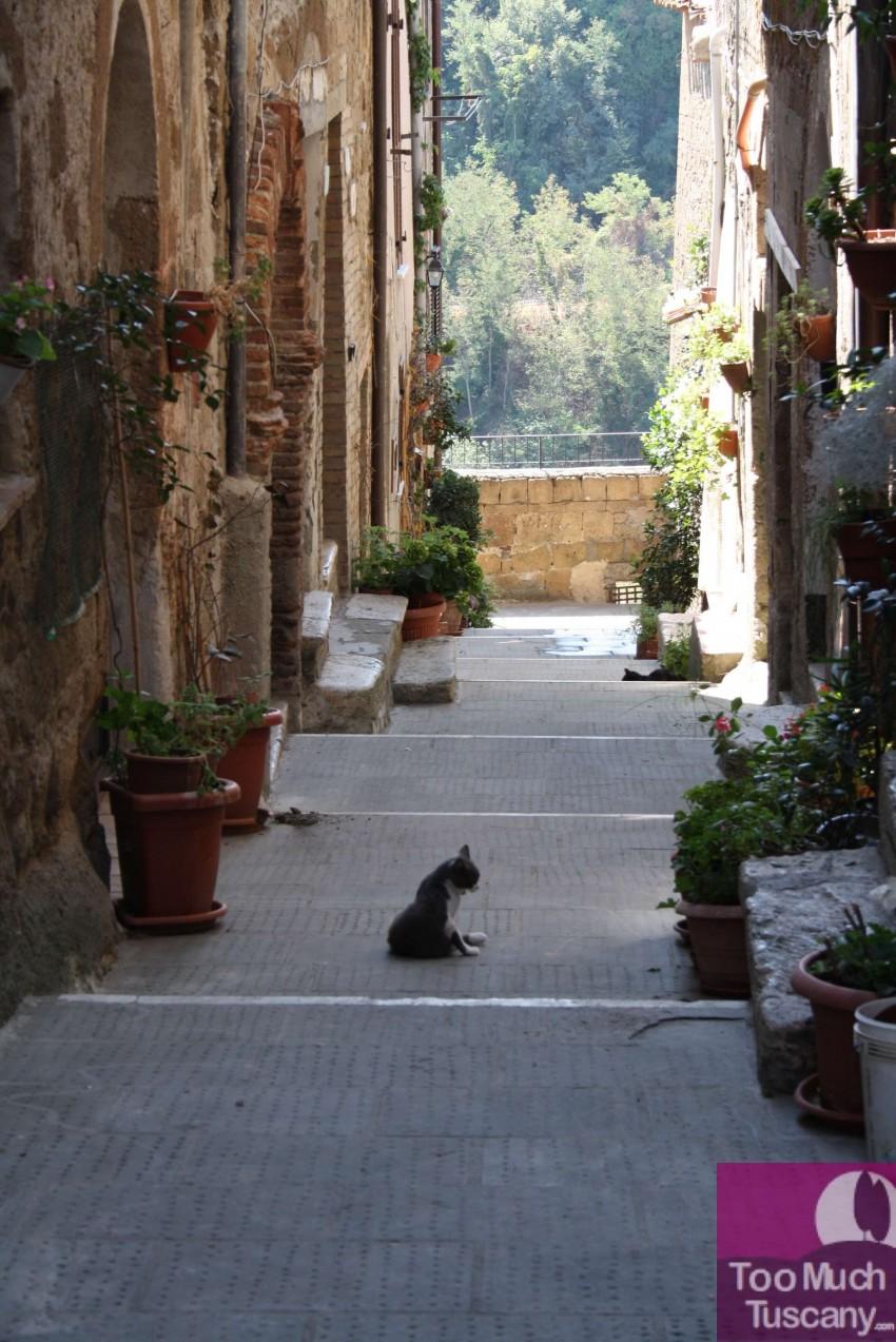Streets in Pitigliano
