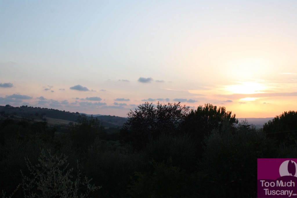 Sunset at Hotel il Melograno