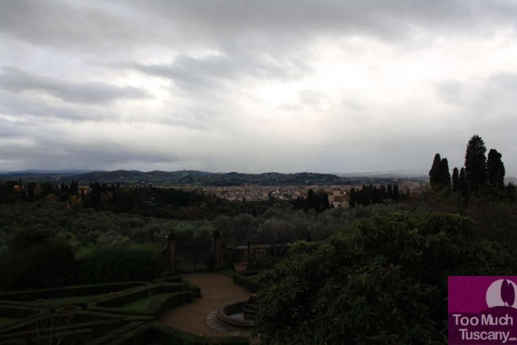 Florence from Villa di Maiano