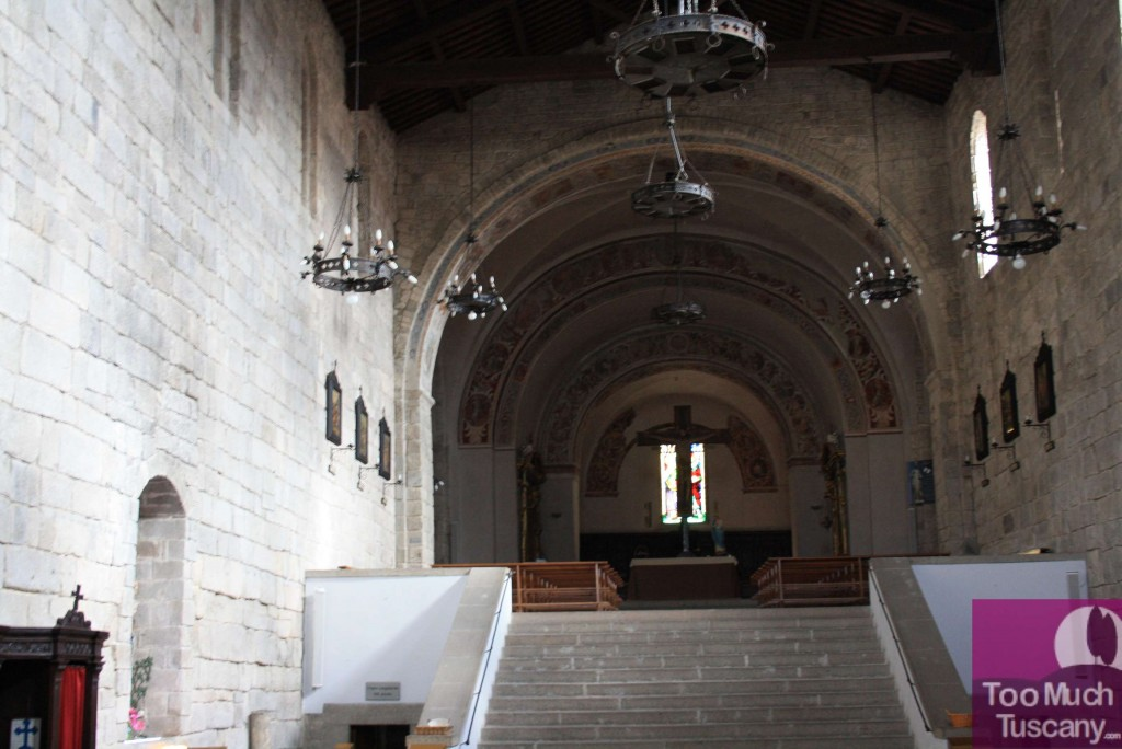 The Church of San Salvatore