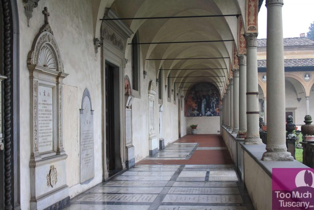 The main cloister