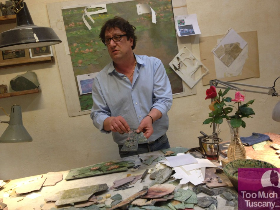 Lastrucci and his workshop