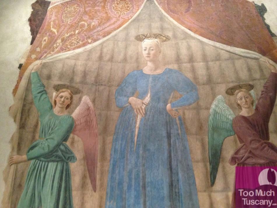 Madonna del Parto by Piero della Francesca