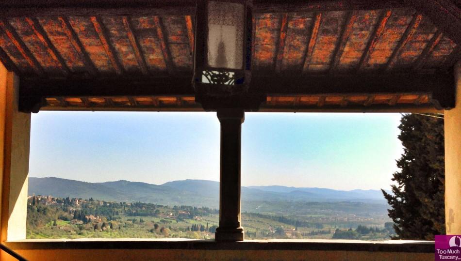 View from Fattoria di Maiano