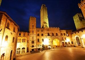 San Gimignano by night