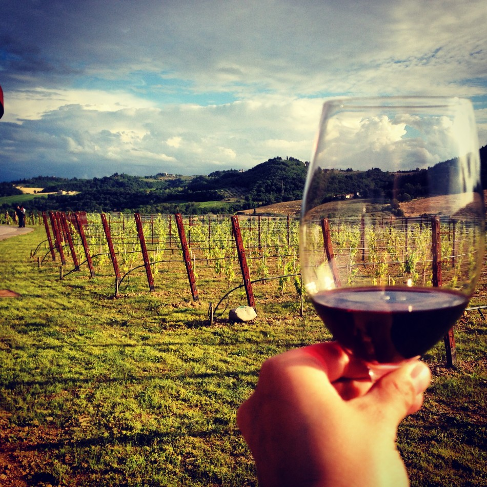 Cheers from Chianti