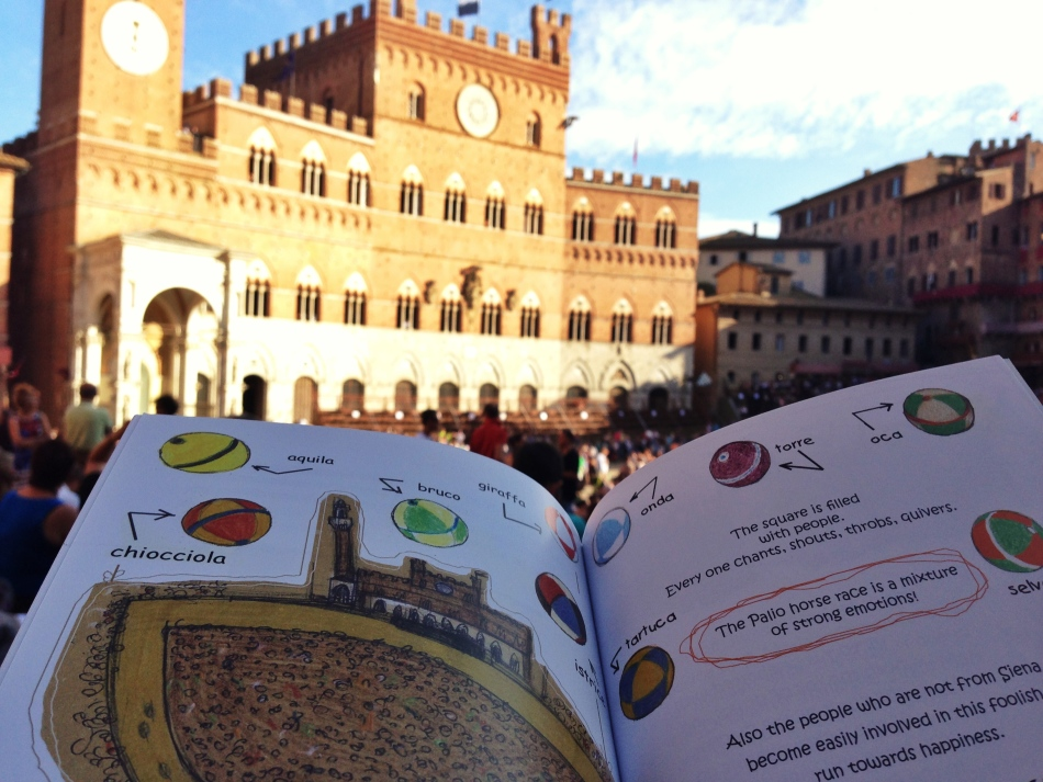 Reading about the Palio