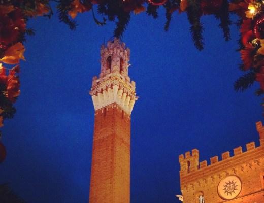 Siena on Christmas