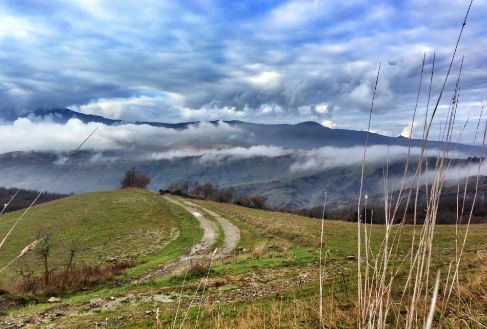 Landscape on the Francigena