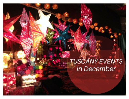 Tuscany Events Decmber