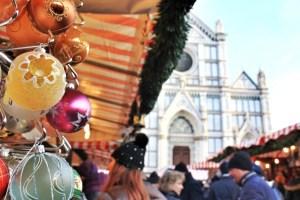 German Xmas Market in Piazza S.Croce
